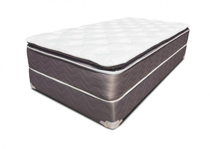 Value Comfort Pillow Top Mattress and Foundation - Queen,Instore