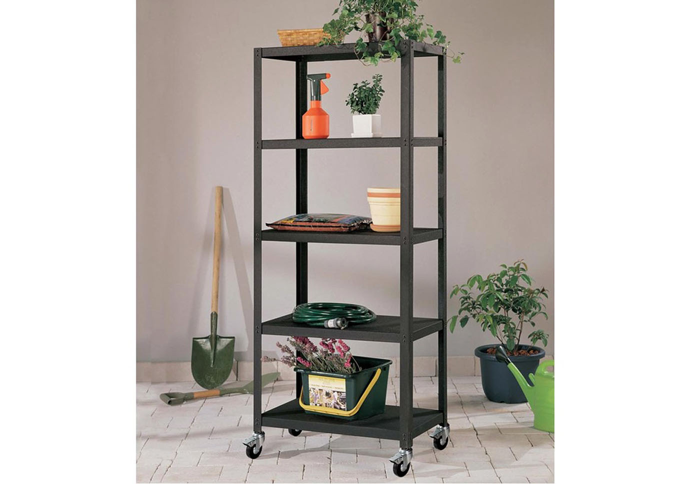 All Metal 5 Tier Shelf,Instore