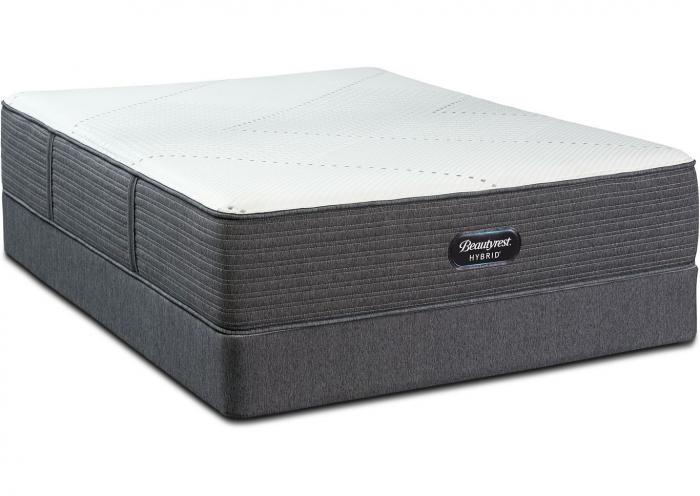 Beautyrest Hybrid Westside Medium Mattress and Foundation California King,Instore