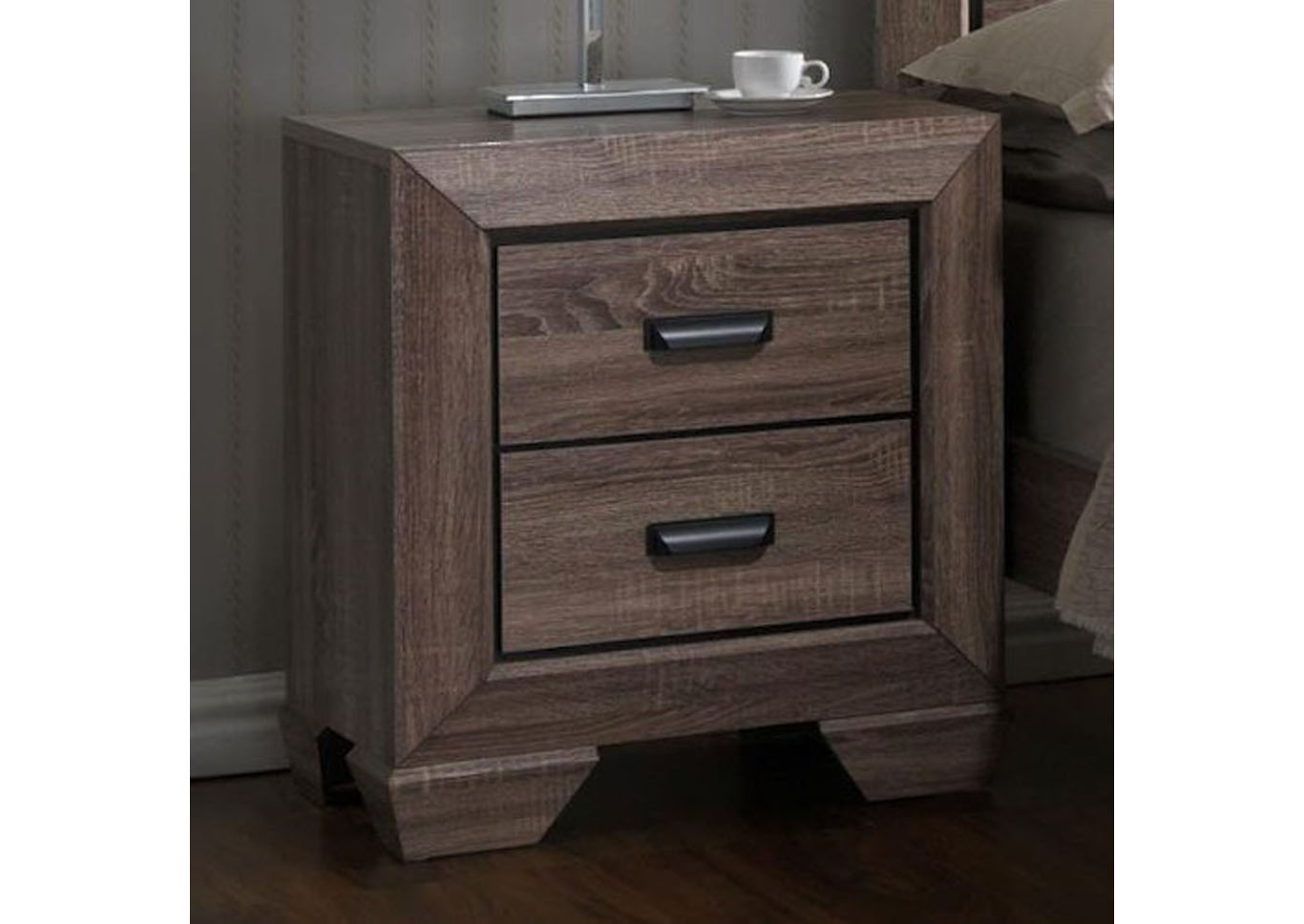 Farrow Nightstand - Gray,Instore
