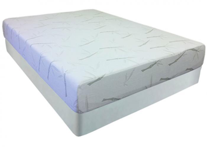 Pure Gel 8 Inch Memory Foam Mattress And Foundation Full,Instore