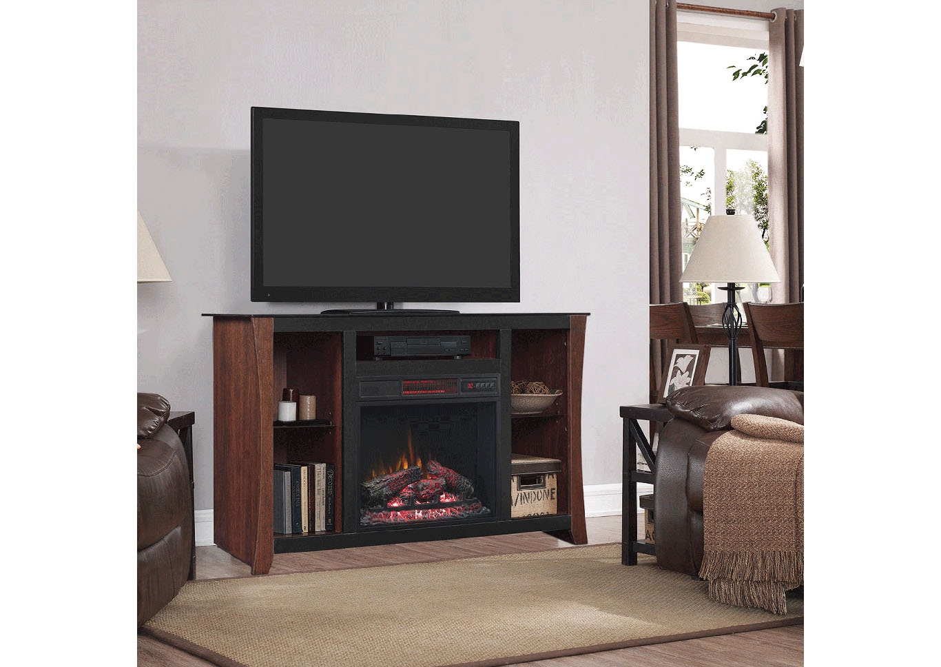 Classic Flame Carlin Fireplace TV Stand,Instore