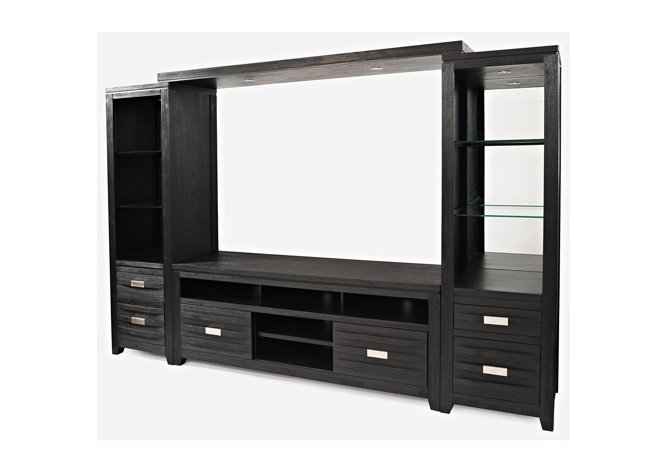 Altima Entertainment Wall with 70 Inch TV Stand,Instore