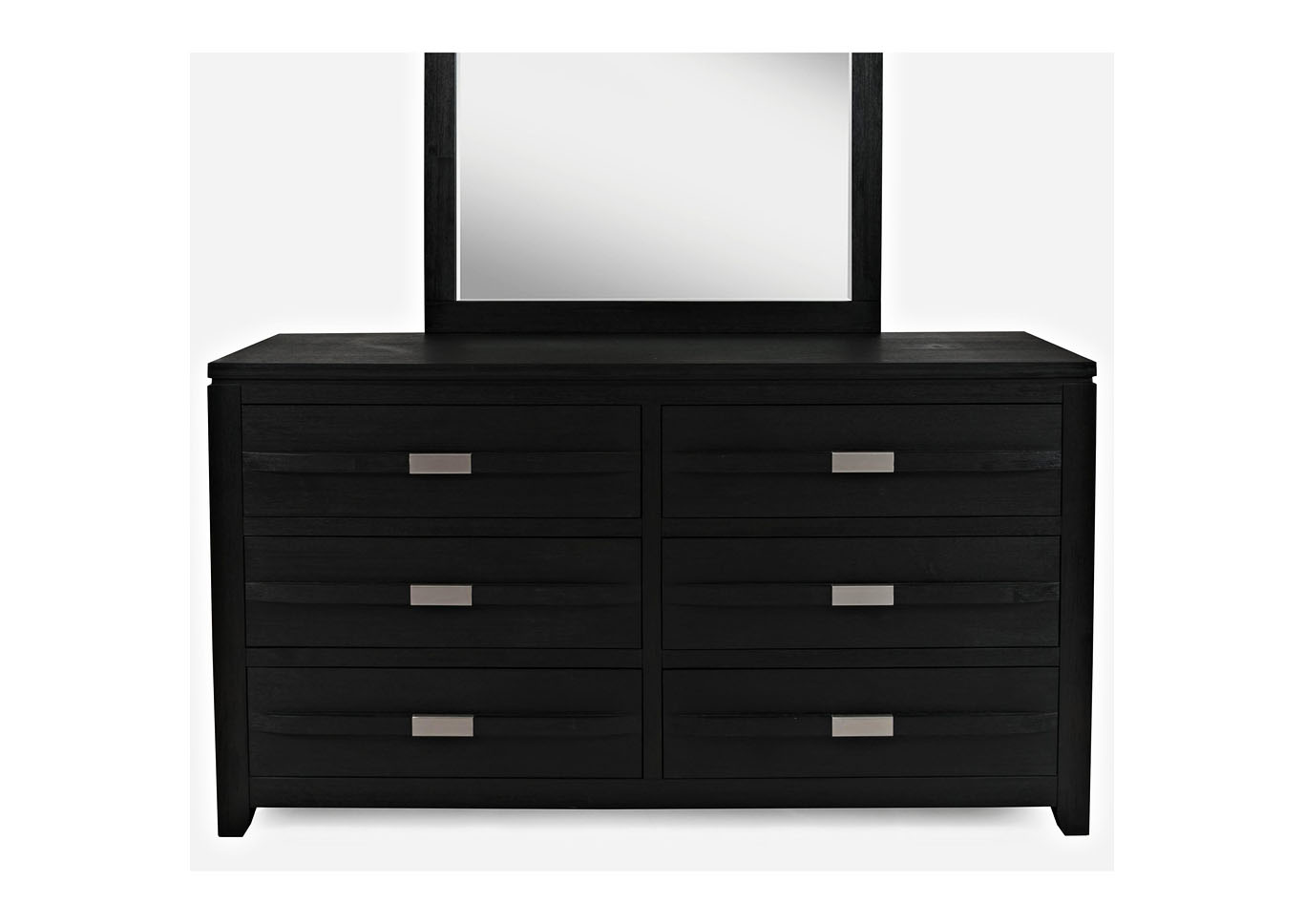 Altima Black 4pc Storage Platform Bedroom Group - Queen,Instore
