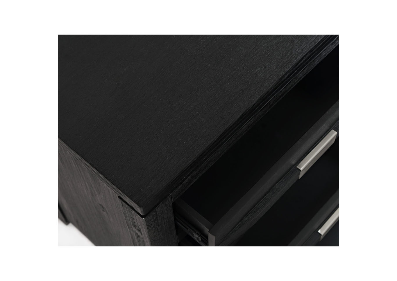 Altima 5 Drawer Black Chest,Instore