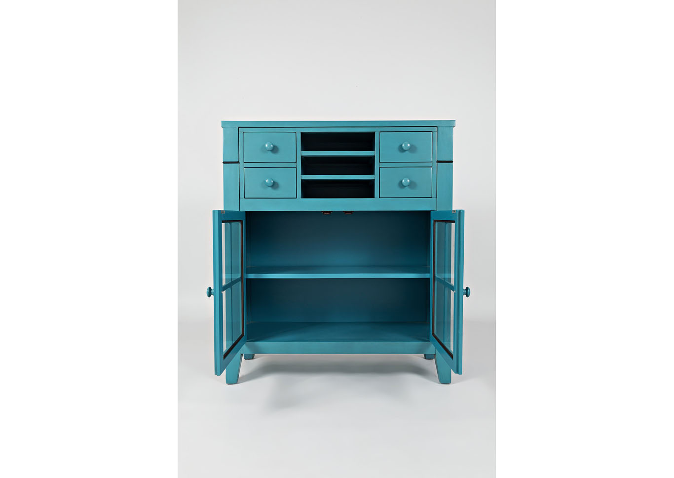 Avery Accent Desk - Blue,Instore