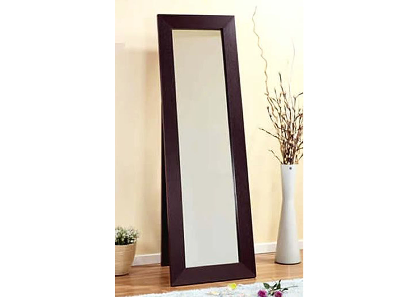 Square Cheval Mirror,Instore
