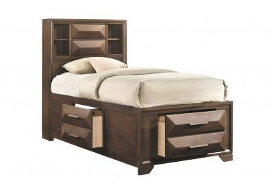 Image for Anthem 3 Double Deep Drawer Storage Platform Bed - Twin