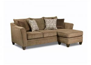 Image for Reagan Reversible Sofa Chaise - Albany Truffle