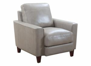 Chino Top Grain Leather Chair - Beige
