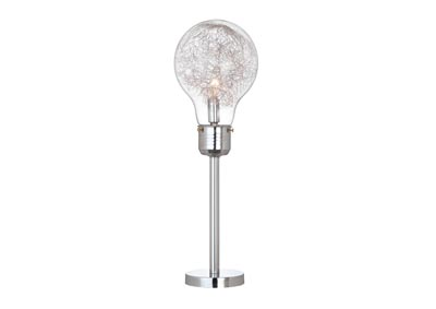 "26""H TABLE LAMP CLEAR"