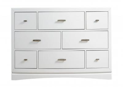Image for Toro 8 Drawer Dresser - White