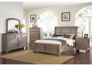 Allison 4pc California King Bedroom Set