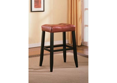 Portman Bar Stool - 29 Inch Red