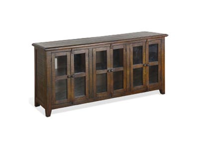 Image for Prairie View 70 Inch Entertainment Console Tobacco Leaf
