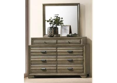 Image for Rodney 8 Drawer Dresser and Mirror