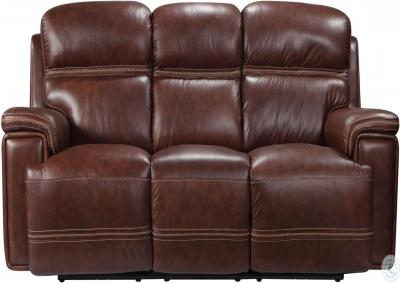 Fresno Power Head and Foot Leather Dual Reclining Sofa