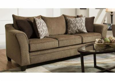 Image for Reagan Queen Sofa Sleeper - Albany Truffle