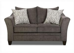 Reagan Love Seat - Albany Pewter