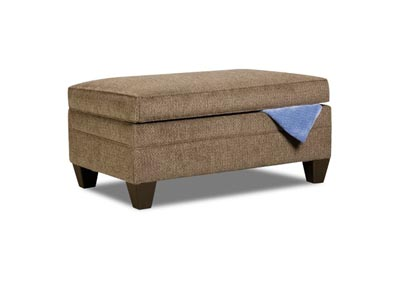 Image for Reagan Storage Ottoman - Albany Truffle