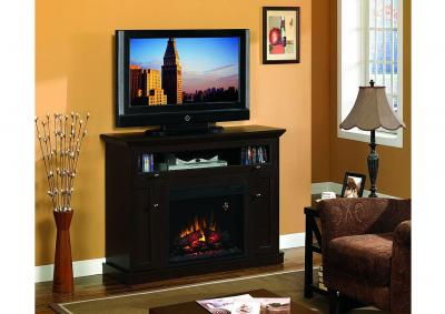 "Image for Classic Flame Windsor TV Stand for TVs up to 50"",  Espresso"