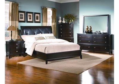 Image for Charlie Padded Panel Bed - California King