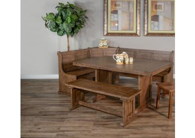 Doe Valley Breakfast Nook with Side Bench