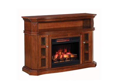 "Image for Classic Flame Bellemeade TV Stand for TVs up to 60"", Burnished Walnut"