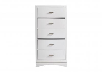 Image for Toro 5 Drawer Chest - White