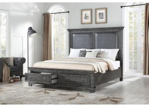 Santa Fe Platform Storage Bed - Queen
