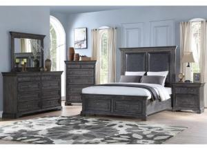 Santa Fe Platform Storage Bedroom Set - California King