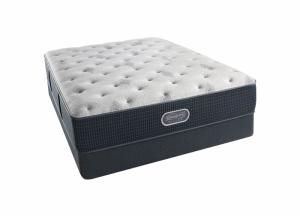 Beautyrest Silver Eastview Plush Mattress and Foundation California King
