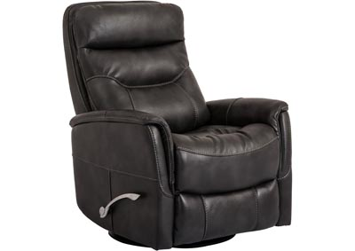 Gemini Gliding Swivel Recliner - Flint