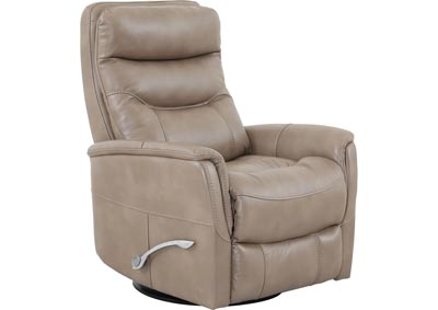 Image for Gemini Gliding Swivel Recliner - Tan