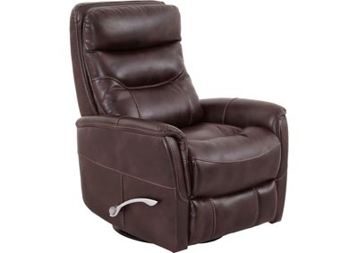 Image for Gemini Gliding Swivel Recliner - Truffle