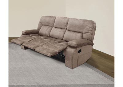 Image for Chapman Triple Reclining Sofa Kona Brown