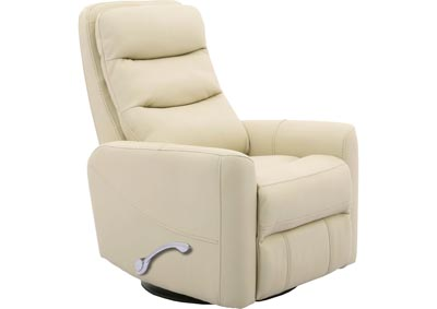 Image for ZEUS MANUAL SWIVEL RECLINER IVORY