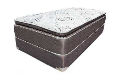 Cordova Pillow Top Mattress and Foundation - California King