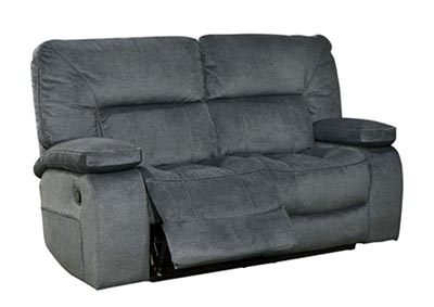 Chapman Dual Reclining Love Seat Polo Blue