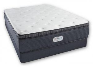 Image for Beautyrest Platinum Spring Grove Luxury Firm Pillow Top Mattress and Foundation Twin