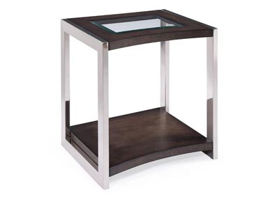 Jag Rectangular End Table