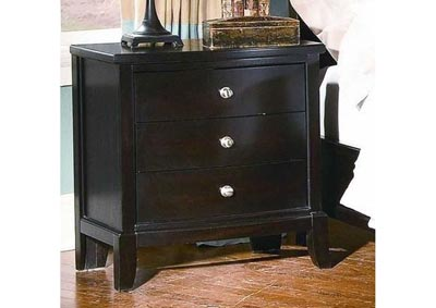 Image for Charlie 3 Drawer Nightstand