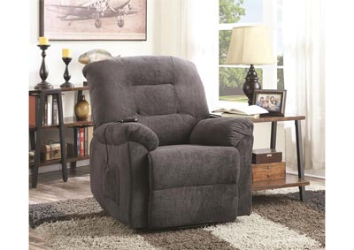 Image for Maverick Power Lift Reclining Chair - Charcoal