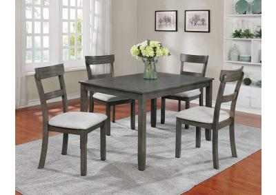 Henderson 5pc Dining Set - Gray