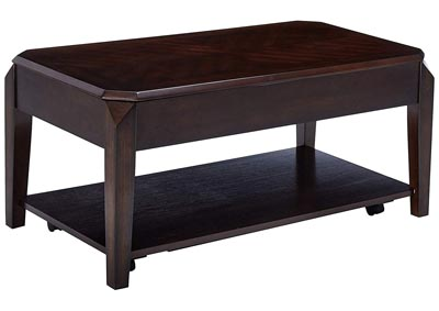 Image for Genesis Walnut Lift Top Cocktail Table