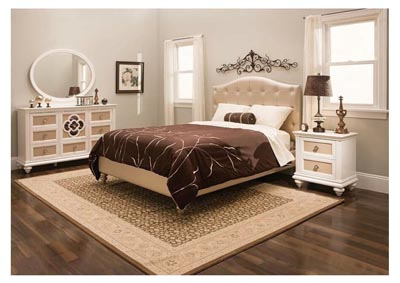 Brianna 4pc Upholstered Bedroom Set - Full