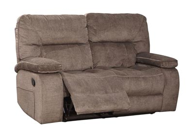 Image for Chapman Dual Reclining Love Seat Kona Brown