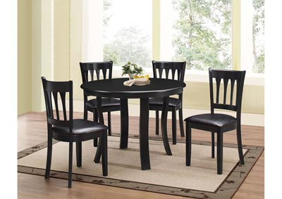 Ebony 5pc Dining Set