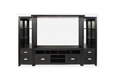Altima Entertainment Wall with 70 Inch TV Stand