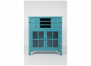 Avery Accent Desk - Blue